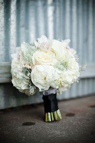 #Winter White #Wedding #BridalBouquet