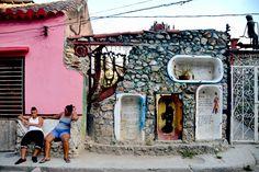 La Havane ! Découvrir les recoins de la capitale Cubaine et voir du street art au Callejon de Hamel. Photo et info du blog : Allez Gizèle