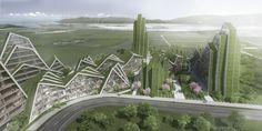 """Galeria - Concluída a primeira unidade do projeto """"Hualien Residences"""" do BIG - 13"""