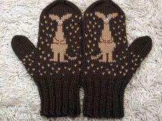 KARDEMUMMAN TALO Knit Mittens, Knitted Gloves, Knitting Socks, Hand Knitting, Wrist Warmers, Hand Warmers, Knitting Stitches, Knitting Patterns, Knitting Ideas
