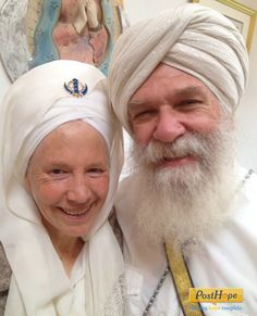 Keep in touch with Gurubhai Singh and Har Nal Kaur during this difficult time.