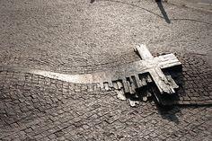 The Site where Jan Palach and Jan Zajic died: Prague, Czech Republic Prague Spring, European Travel, Czech Republic, Hungary, Garden Tools, Memories, History, World, Hero