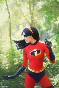 Incredibles Violet Cosplay, Cosplayed by Vera-Chimera, Photography by Beethy.