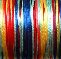Satin Braiding Cord