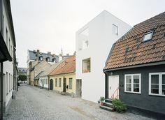 Una casa que contrasta