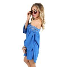 f50dbf286ffead Inner Beauty Top in Royal Blue