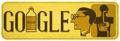Canadian Medical Scientist Sir Frederick Banting's 125th birthday! #GoogleDoodle #Insulin #worlddiabetesday 😷🏥💊