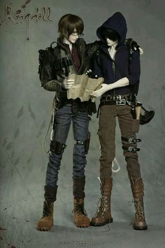Boy dolls from Ringdoll