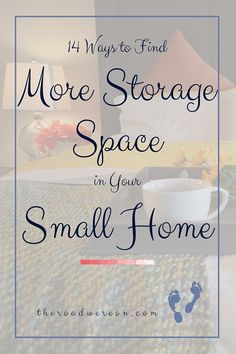 Wives and homemakers, here are 14 of the best tips that I have found or learned which maximize organization and storage space in your small home or apartment. We all start out in need of these practical solutions!