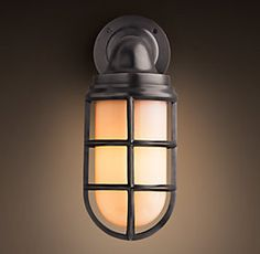 Sconces | Restoration Hardware · Basement LightingExterior ...