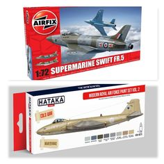 Supermarine Swift F.R. Mk5 1/72 Airfix (Combo-Pack)
