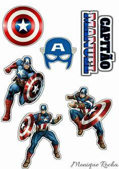 Captain America Cake, Hero Poster, Superhero Theme Party, Avengers Team, Spiderman Movie, Hulk Marvel, Kids Cards, Card Making, Banner