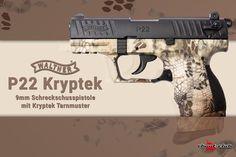 Walther P22Q Kryptek Schreckschusspistole  - mit Kryptek Tarnmuster -  #shootclub #schreckschuss #Pistol #p22