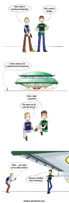 NCIs vs. Aliens by *Saisoto