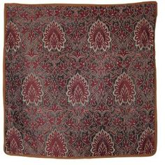 Christmas Handwoven silk cushion covers from India 40 x 40 cm: Amazon.de: Kitchen & Home