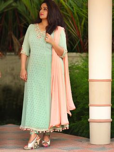 Kavya Madhavan Laksyah New Photoshoot Salwar Designs, Kurta Designs Women, Kurti Designs Party Wear, Saree Blouse Designs, Dress Indian Style, Indian Dresses, Indian Outfits, Indian Clothes, Churidhar Designs