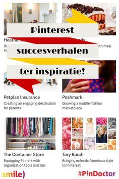 Leren van Pinterest kanjers. Dat helpt als je #Pinterest zakelijk in gaat zetten. Gelukkig deelt Pinterest succesverhalen ter inspiratie! Blog door Suzanne Wartenbergh