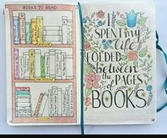 Books to read #Bullet Journals