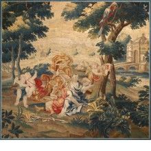 "Brussels XVII ""Allegory Of Spring"" 1690"