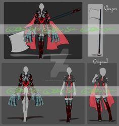 Redesign Set Portfolio [SOLD] by JxW-SpiralofChaos