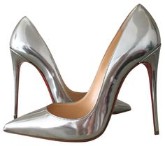 Christian Louboutin So Kate 120mm Us9 Eu39 Silver Pumps. Get the must-have pumps of this season! These Christian Louboutin So Kate 120mm Us9 Eu39 Silver Pumps are a top 10 member favorite on Tradesy. Save on yours before they're sold out!