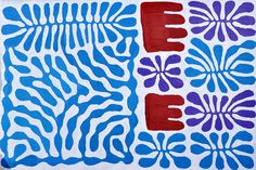 Mitjili Napurrula | Aboriginal art painting. Reminds me of Matisse's paper cut out paintings.
