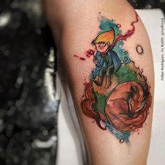 30 tatuaggi ispirati al Piccolo Principe di Saint-Exupéry