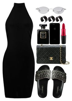 """Y O U."" by sassy-862 ❤ liked on Polyvore featuring Chanel, Boohoo, MAC Cosmetics and ASOS"