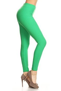 Product review for Leggings Depot Ultra Soft Basic Solid Plain Best Seller Leggings 128 - Carry 1000+ Print Designs (Kelly Green) -  Stretch Fabric + Full Length Leggings: A figure flattering & ultra comfortable fit!! Solid Color Design: Will match with nearly anything! Great for layering under dresses and tops! Wear casually or as yoga pants! Comfort and movability!  -  http://www.bestselleroutlet.net/product-review-for-leggings-depot-ultra-soft-basic-solid-plain-best-