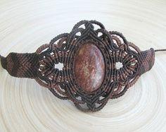 Bright macrame bracelet delicate bracelet boho bracelet