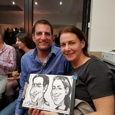 Caricaturist on party Caricatures, Great Gifts, Party, Fictional Characters, Parties, Fantasy Characters, Caricature, Caricature Drawing