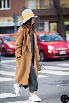 Erika Boldrin Street Style Street Fashion Streetsnaps by STYLEDUMONDE Street Style Fashion Blog