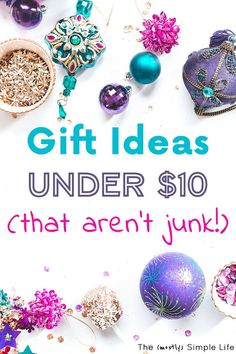 Gift Ideas Under 10 That People Will Love