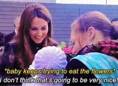 "katemiddletons: ""Meeting the Duchess of Cambridge ♡ """