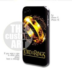 Lord Of The Rings - For iPhone 4 / 4s | TheCustomArt - Accessories on ArtFire