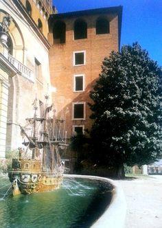 Fontana della Galera, Giardini Vaticani, Rome