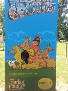 Harbert Dog Park at Harbert Park Michigan