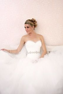 The ultimate tulle ball gown with jeweled waist - Victoria Nicole Wedding Gowns #wedding