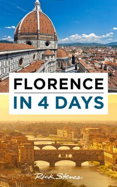 Planning a trip to Florence? Here's Rick Steves' ideal itinerary.