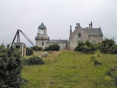 Little Cumbrae Light (old), Millport, UK It's on the Wee Cumbrae Isle across the bay from Millport.......