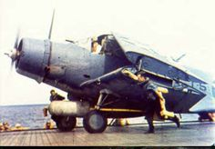Douglas TBD Devastator, Aircraft #5 of Torpedo Squadron 8 aboard the aircraft carrier USS Hornet (CV-8), May 1942.