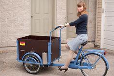 Cargo Bike ~ http://steamykitchen.com
