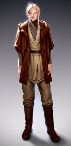 Probs my outfit if I was a jedi