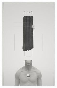 SCAR 003 by Philip Harris-Genois | Portrait | 3D | CGSociety