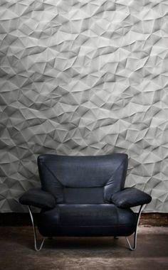 99 Inspiring Modern Wall Texture Design for Home Interior Wall Texture Design, Wall Design, House Design, Loft Design, Modern Design, Textures Murales, Panneau Mural 3d, 3d Wall Panels, Ceiling Panels