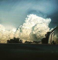 Storm over Lincoln, NE from Aurora, NE.  6.16.17  Photo credit Gretchen Brosman