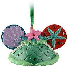Ear Hat Ariel Ornament