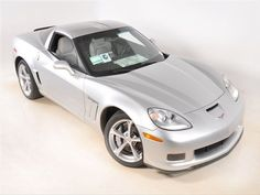 2012 Chevy #Corvette Z16 Grand Sport - Silver Ice Metallic, Sequential Fuel Injection 8 Cyl., Automatic. www.chevroletcorvetteusa.com
