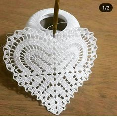 Ideas Crochet Heart Motif Stitches For 2019 Crochet Chart, Crochet Motif, Crochet Doilies, Crochet Flowers, Easy Crochet, Crochet Stitches, Embroidery Stitches, Embroidery Patterns, Knitting Patterns