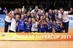 Dames 1 wint Supercup 2013 in vijfsetter van Alterno | Foto PimsPictures.nl | #volleybal #volleyball #nevobo #supercup #eredivisie #delaeredivisie